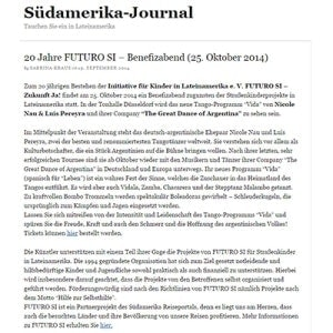 Südamerika Journal, 2014