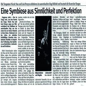 Symbiose aus Sinnlichkeit Authetizität und Perfektion, 2007