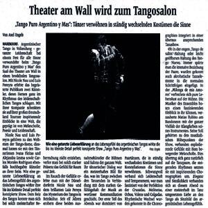 Tänzer verwöhnen in ständig wechselnden Kostümen die Sinne, Ausnahmekünstler in inspirierenden Choreographien, 2012
