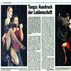 Tango Ausdruck der Leidenschaft, 2007