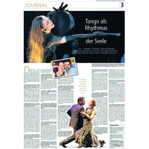 Tango como ritmo del alma, Rhein Main Presse 2013