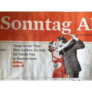 Tango is the dream of her life, Stuttgart 2014