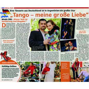Tango meine grosse Liebe, 2013 Glücksrevue