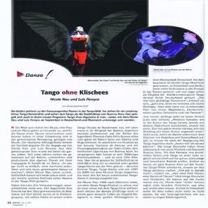 Tango ohne Klische, 2011