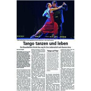 Tango tanzen und Leben, ein Portrait, 2013