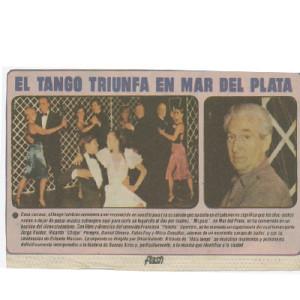 Tango succeeds in Mar del Plata