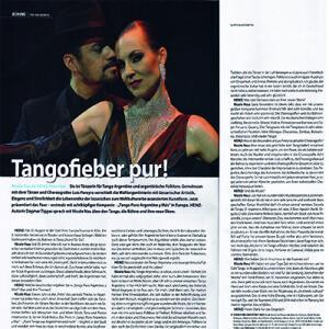 Pura Fiebre de Tango, 2012