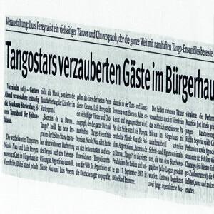 Tangostars verzaubern Gäste, 2007