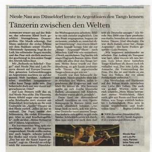 Bailar entre mundos, Welt am Sonntag 2006