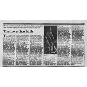 Liebe die tötet, USA