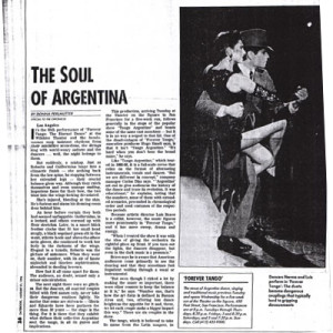 The soul of Argentina USA