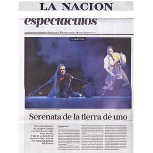 Titelblatt - eine Serenata unseres Landes, La Nacion, 2015