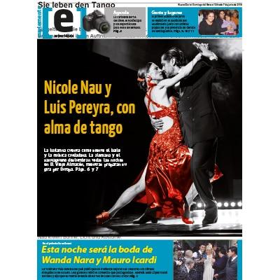 Nau Pereyra con alma de Tango, título, 2015