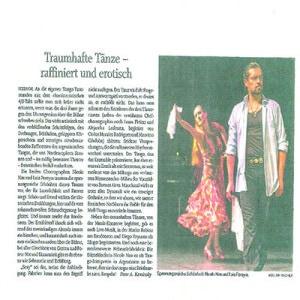 Bailes maravillosos, sofisticados, subtiles y eróticos, una belleza emocionante, Itzehoe 2011