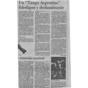 """Ein """"Tango Argentino"""" vertraut und blendend, Argentinien"""