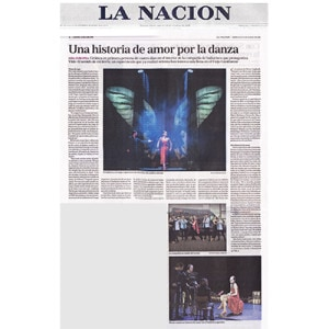 Once again, their eyes cross with the same intensity of her love - a new life - Vida II begins, La Nacion 2014