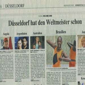 WM Beitrag, Rheinische Post 2006