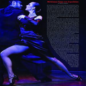 Tango extraordinario de Argentina, 2012