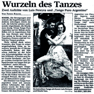 Wurzeln des Tanzes, 2012