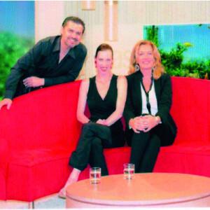 Zu Gast auf dem Roten Sofa, mit der wundervollen Bettina Tijdjen 2013 NDR
