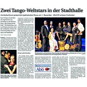 Dos estrellas mundiales en la Stadthalle, 2013