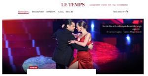 Nicole Nau & Luis Pereyra | Cinema | Le Temps
