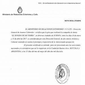 ELSONIDO DEMITIERRA