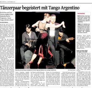 Tangopaar begeistert