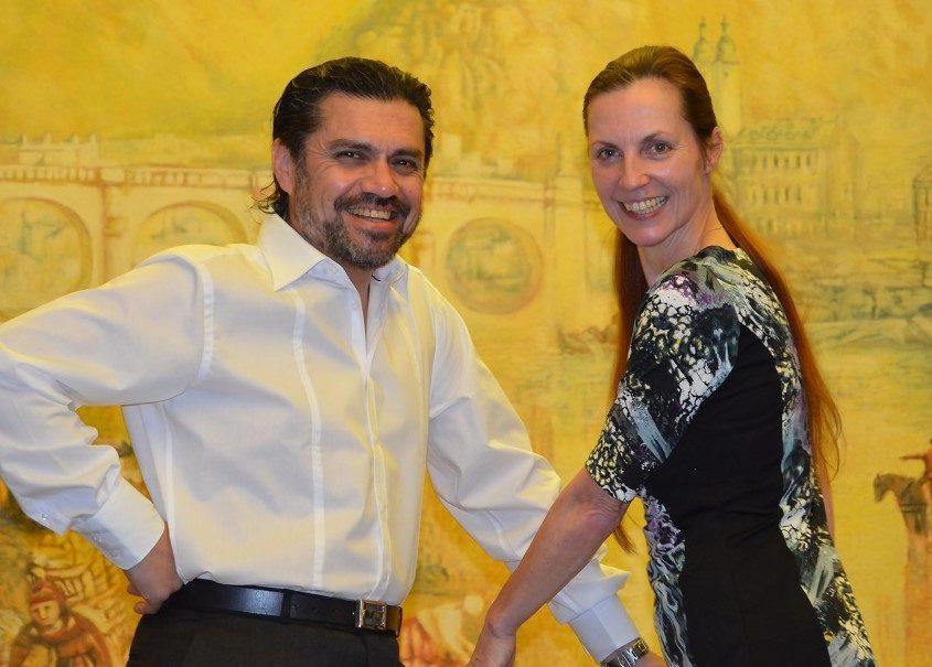 Nicole Nau & Luis Pereyra auf dem Traumschiff