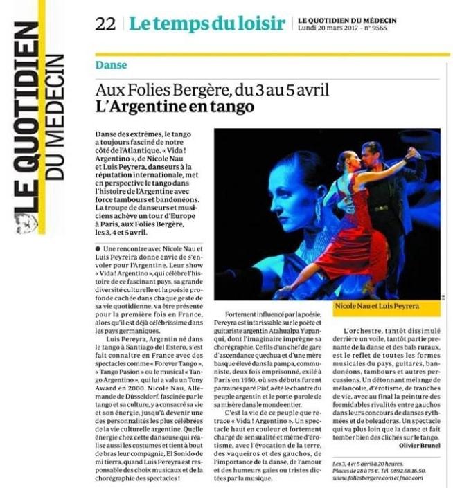VIDA! Show - Tango Argentino
